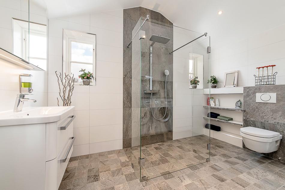Lyxigt och nytt  badrum