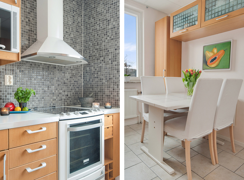 Detaljbilder från köket