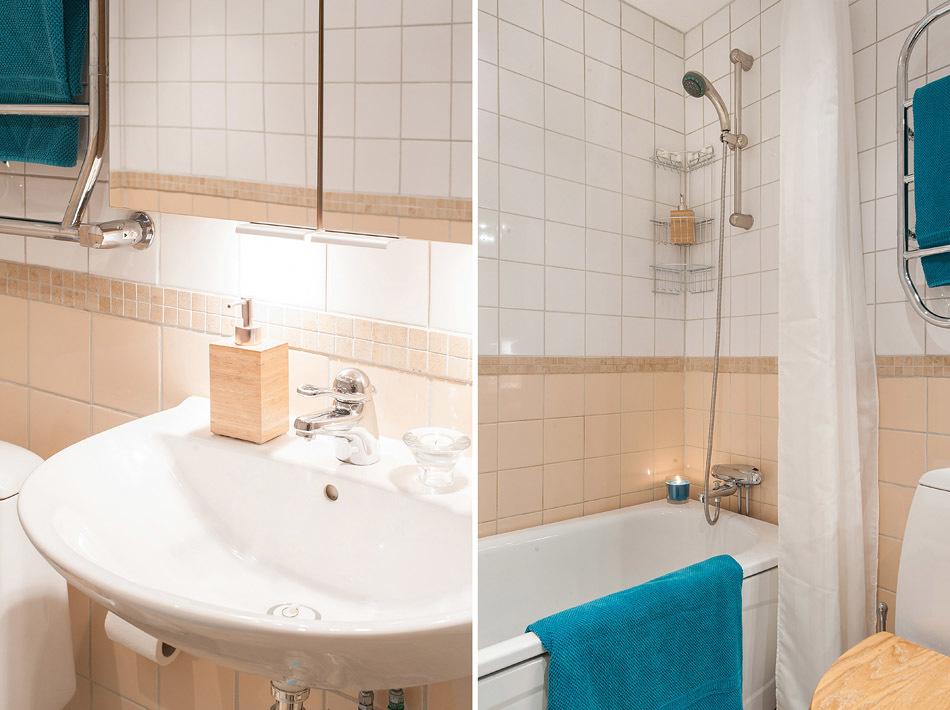 Detaljbilder från badrummet