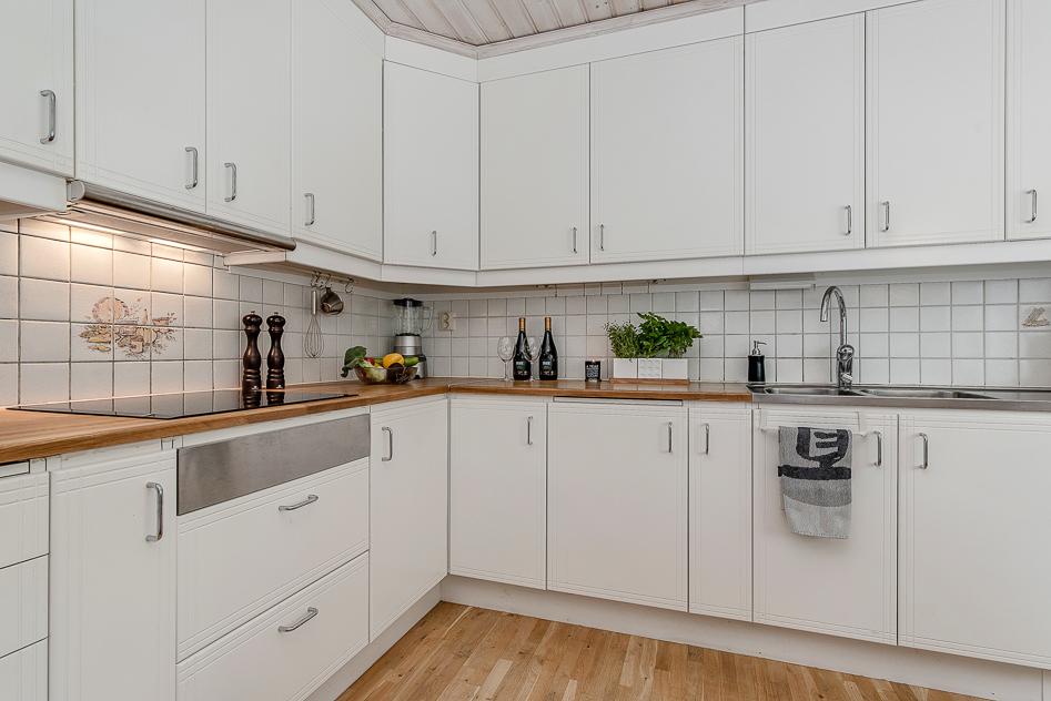 Praktiskt och diskret kök