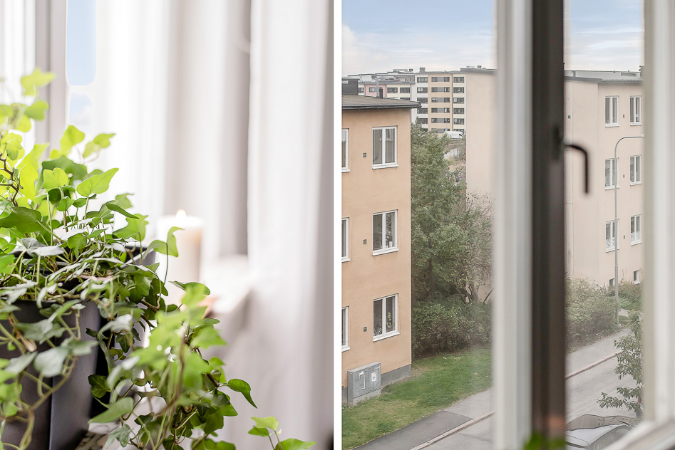 Glimt från vardagsrumsfönstret