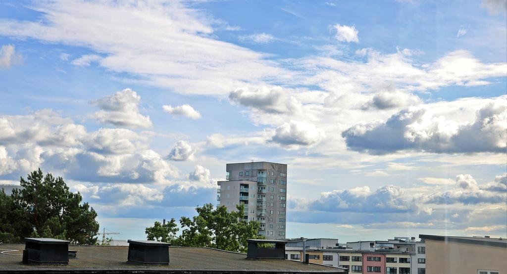 Utsikt från vardagsrumsfönstret
