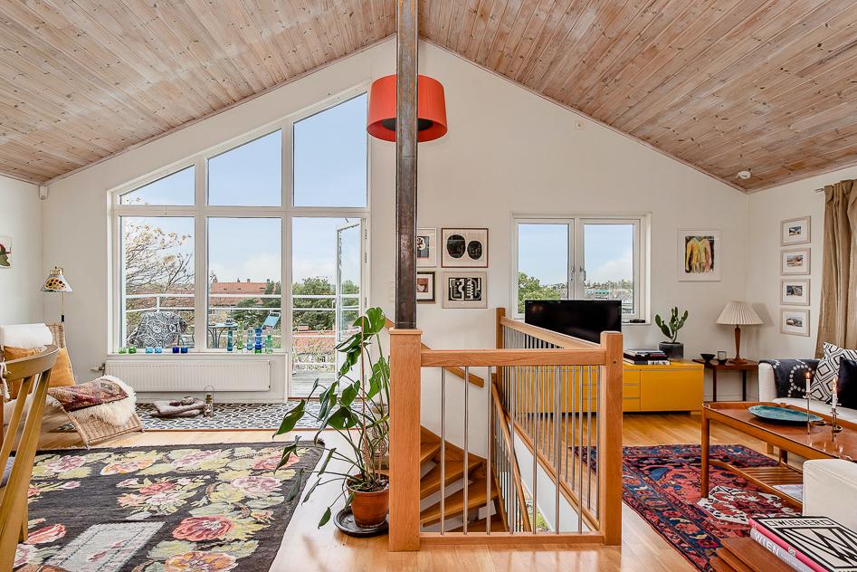 Ett rum med utsikt